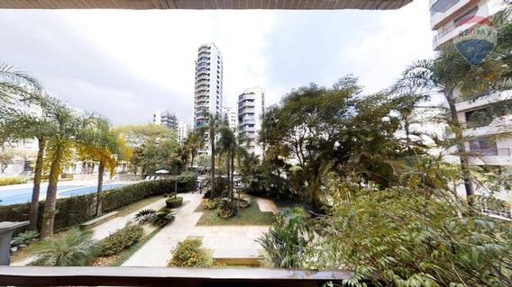 Apartamento Com 4 Dormitórios E 3 Vagas De Garagem - Moema. - Ap10137