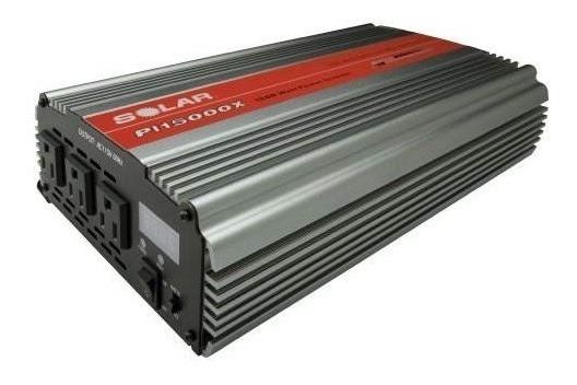 Solar Pi15000x 1500w Inversor De Corriente Triple De Salida