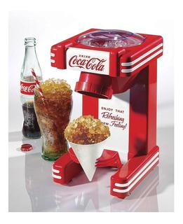 Coca Cola Snow Cone Nostalgia Máquina Para Hielo Frappé