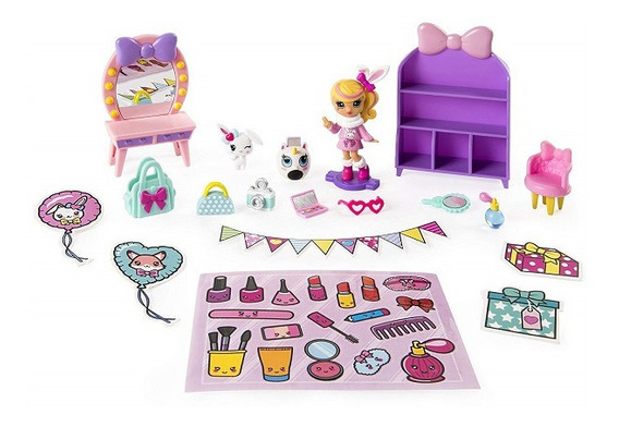Party Pop Teenies Set Muñeca + Acc S1 Int 46802 Original