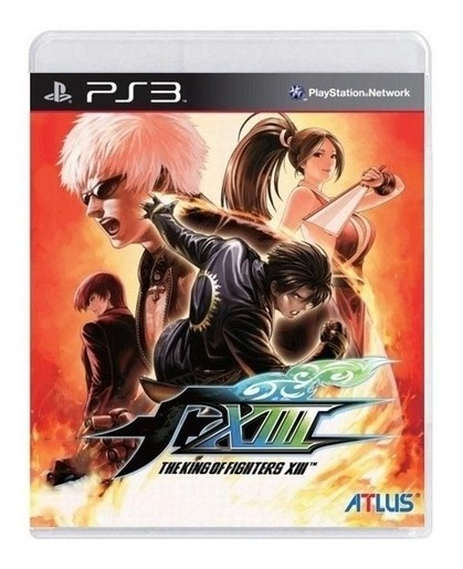 The King Of Fighters Xiii Ps3 Física Completo Usado Madgames