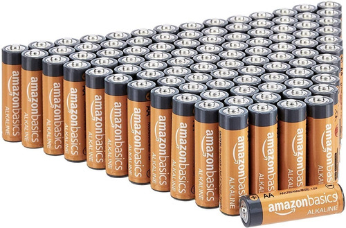 Baterias Alcalinas Aa Amazon Basics De Alto Rendimiento