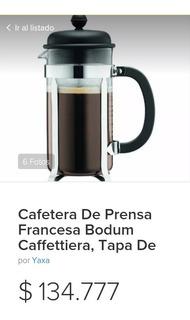 Cafetera Francesa Bodum