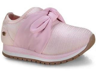 Tênis Infantil Fem. Pink Cats Gratuggia Pétala - V0812 Rosa