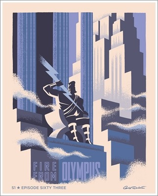 Pôsteres Série Animada Batman - S01e63 Fogo Do Olimpo