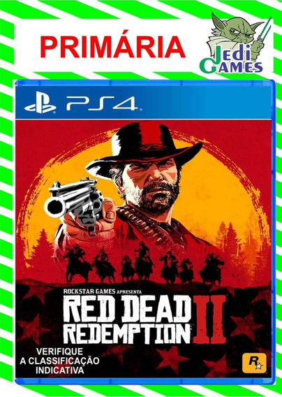Red Dead 2 Ps4 Code 1 Pt-br