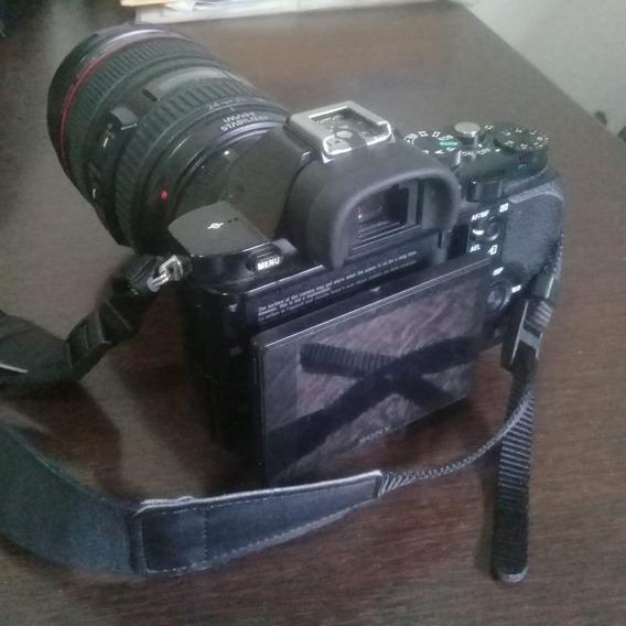 A7s + Metabones + Lente Canon 24-105