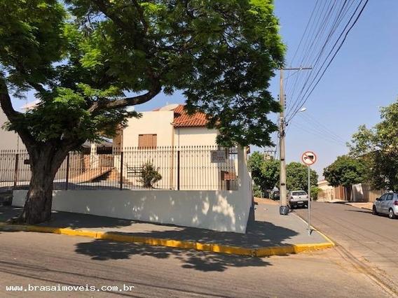Casa Para Locação Em Presidente Prudente, Vila Marina, 3 Dormitórios, 1 Banheiro, 2 Vagas - 00527.001