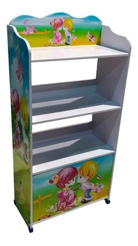 Biblioteca Infantil Estantes Organizador De Juguetes