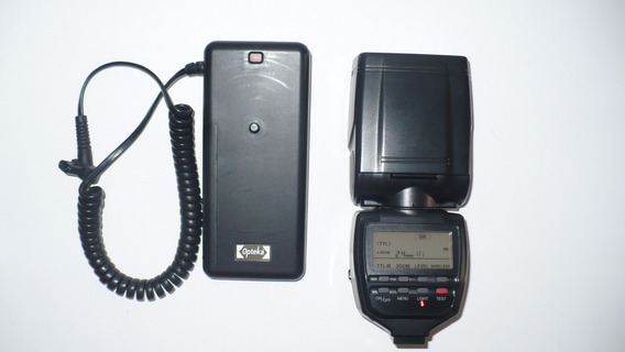 Flash Minolta 5400xi+pack Bateria Opteka