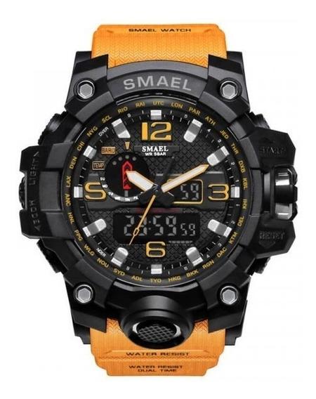 Relógio Masculino Smael 1545 Original Diversas Cores
