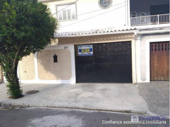 Casa Com 3 Dormitórios Para Alugar, 120 M² Por R$ 1.250,00/mês - Campo Grande - Rio De Janeiro/rj - Ca1587