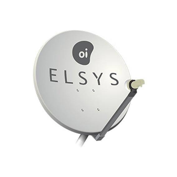 Antena Parabólica Elsys Oi Tv 60cm Mono Ponto Etki11