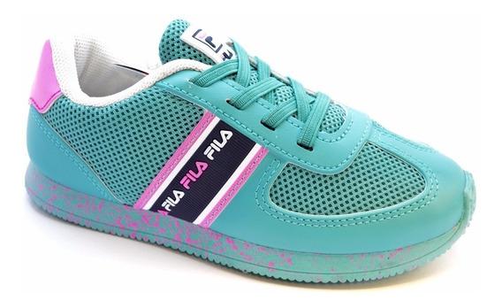 Zapatillas Fila Retro Inf Niños Tall 27 Al 33 Varios Colores