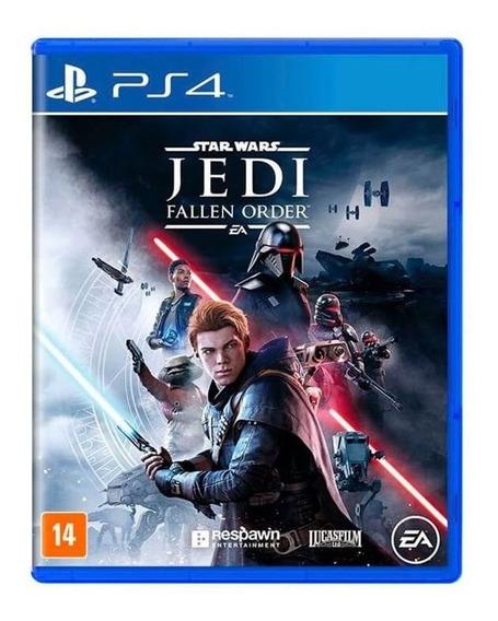 Jogo Star Wars Jedi Fallen Order Ps4 Mídia Física Dublado Br