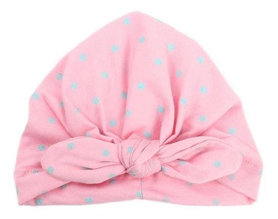 Gorro Turbante Para Bebé Niña Contra Frío Infantil Bohemio