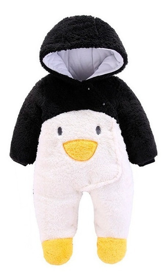 Mameluco Bebe De Pingüino