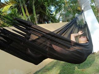 Hamaca Yucateca Individual (tela De Nylon) + Bolsa De Viaje