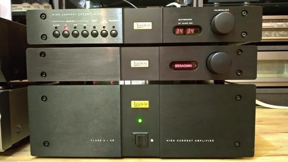 Conjunto Legacy Class A/ab Pré Power E Processador Nad Krell