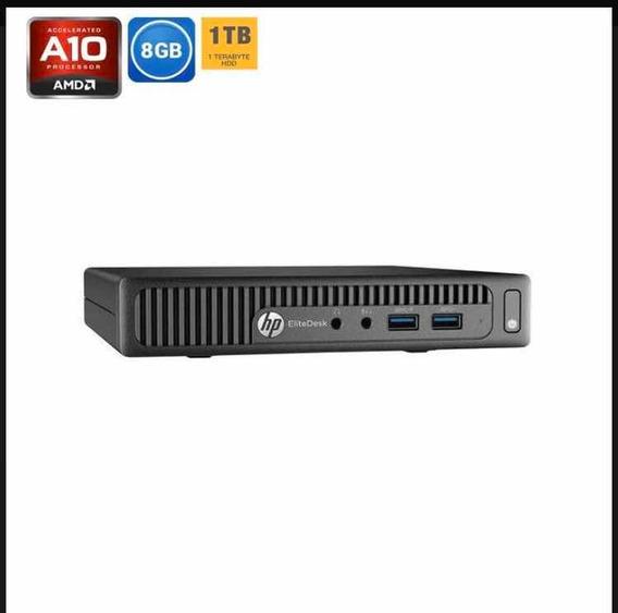 Hp Elitedesk 705 G3 Amd Pro A10 2.80ghz 8 Gb Ram 1tb De Hd