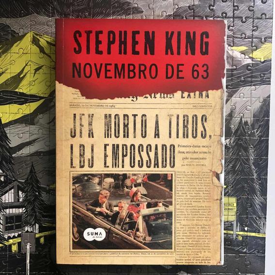 Livro Novembro De 63 Stephen King