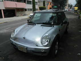 Mini Cooper 1.6 Chili 5vel Aa Tela/piel Qc Mt 2004