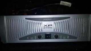 Phonic Xp 2000 Potencia Amplificador 1920 Wats