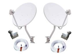 Antenas/controles/lnbf/conector/cabos.