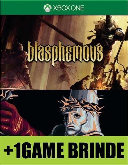Blasphemous Xbox One Mídia