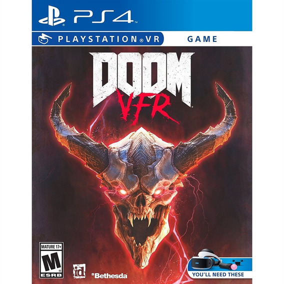 Doom Vfr - Ps4 Mídia Física