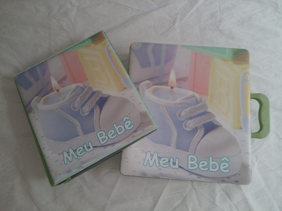 Caixa Álbuns Fotográficos 20x25- Fotos Bebê Maleta + Folha
