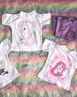 T-shirt Para Niñas Desde 6 Meses
