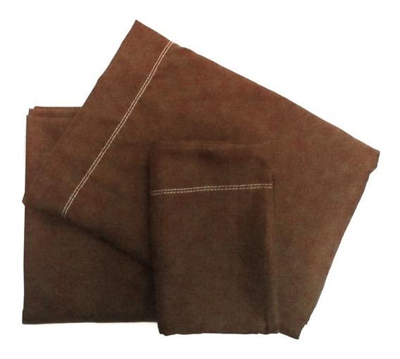 Juego De Sabanas Microfibra Cotton Touch 1 1/2 Plaza