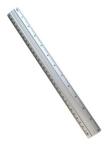 Regla De Aluminio 30cm.