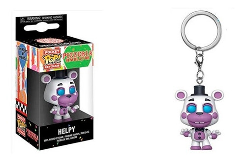 Funko Pop Keychain Five Nights At Freddy Helpy Nuevo Vdgmrs
