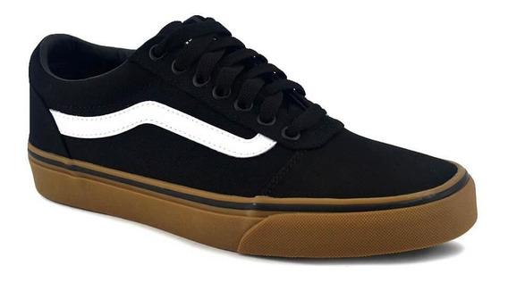 Zapatilla Vans Hombre Ward Negro/marron