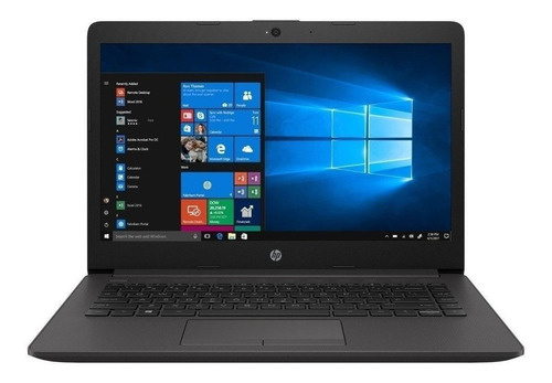 "Notebook HP 240 G7 plateado ceniza oscuro 14"", Intel Core i5 1035G1  4GB de RAM 1TB HDD, Intel UHD Graphics G1 1366x768px Windows 10 Home"