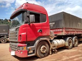 Conjunto Scania R440 2013 Highline 6x4 Retarder + Bitren