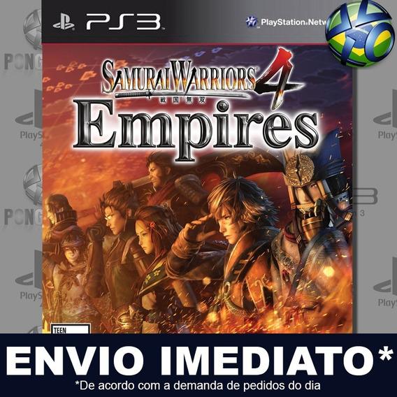 Samurai Warriors 4 Empires Ps3 Psn Jogo Em Promoção