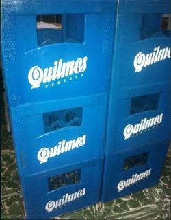 Cajones Vacios De Cerveza Quilmes Porron 340 Cc