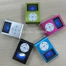 Mini Mp3 Fm Player Shuflle Fone Clip