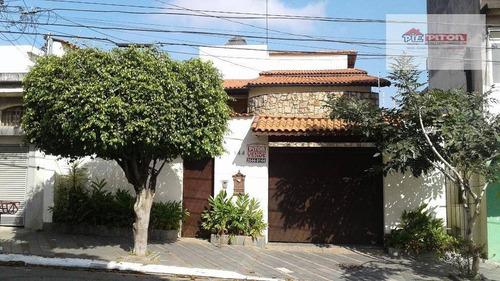 Sobrado Com 4 Dormitórios À Venda, 220 M² Por R$ 980.000,00 - Parque Boturussu - São Paulo/sp - So1087