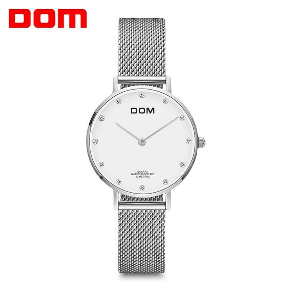 Dom G - 36g - 7 M Moda Diamante Discar Aço Aço Malha Mulhere