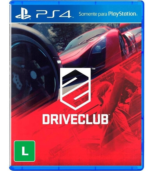 Driveclub - Ps4 Mídia Física Versão Em Inglês Importado