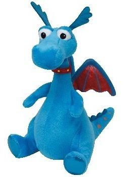 Pelucia Stuffy Dragon Ty Beanie Babies Dtc - Doc Mcstuffins
