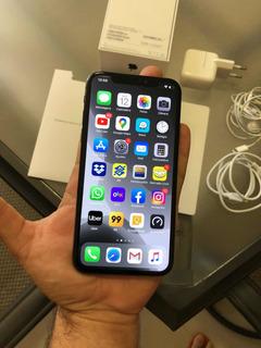 iPhone X 64gb Preto - Impecável