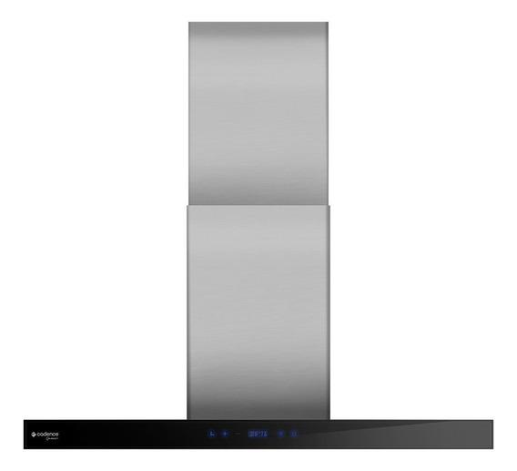 Exaustor de Cozinha Cadence Gourmet CFA400 aço inoxidável de parede 90cm x 8cm x 50cm prateado 127V