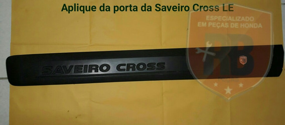 Aplique Da Porta Da Saveiro Cross G6 Le