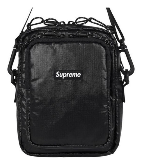 Supreme Shoulder Bag Fw17 Bolsa De Ombro Hype Outfit Hip Hop