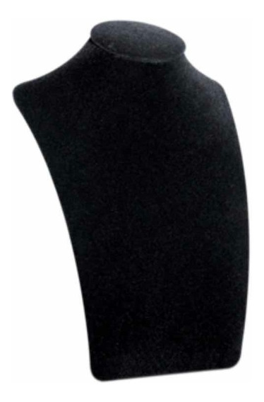Cuello Exhibidor Terciopelo Negro